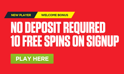10 Free Spins on Sign Up