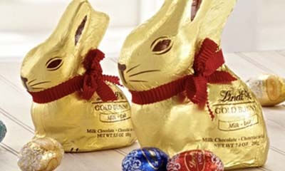 Free Lindt Chocolate Bunny