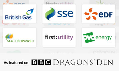 Free Savings On Your Energy Bills - Dragons Den Backed!