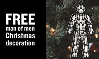Free Christmas Tree Decoration from Prostate Cancer UK
