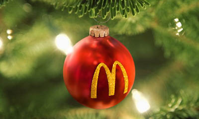 Free McDonald's Baubles