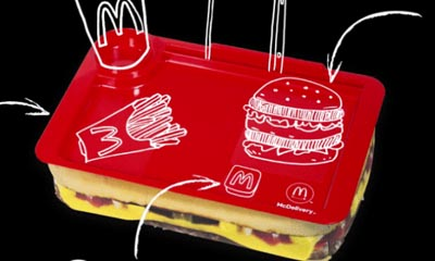 Free McDonald's Food Tray