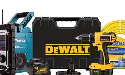 Free Power Tools and Garden Equipment