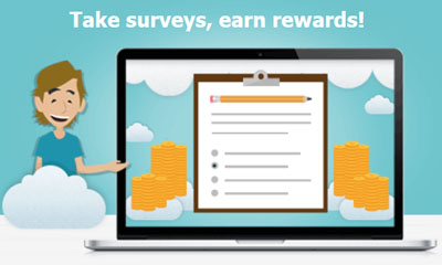Get paid up to £5 per completed survey