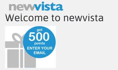 Free £5 For Joining newvista