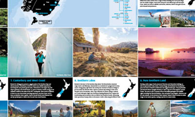 Free Touring Map of New Zealand