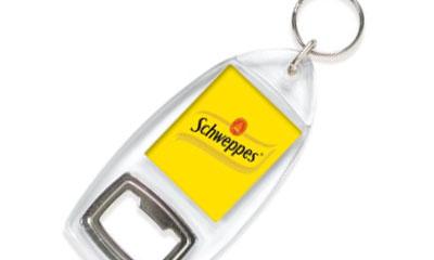 Free Schweppes Bottle Opener Keyring