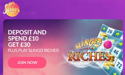 Play Slingo Riches with Gala Spins