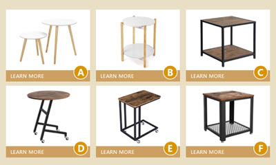 Free Side Tables from Songmics Black Friday Giveaway