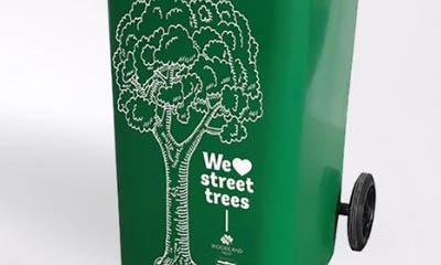 Free Tree Wheelie Bin Sticker
