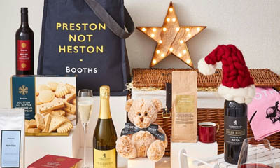 Win a Booths Christmas Hamper