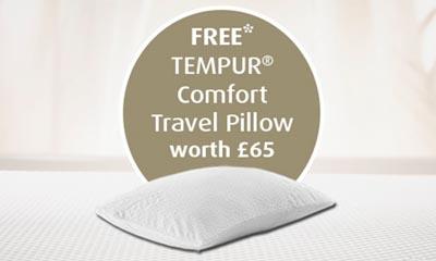 Free Tempur Travel Pillow