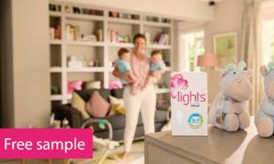 Free lights by TENA Sample
