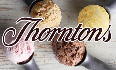 Free Thorntons Ice Cream Scoop