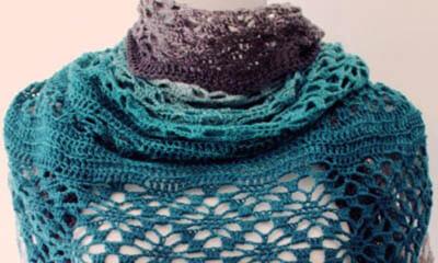 Free Throw Scarf Crochet Pattern