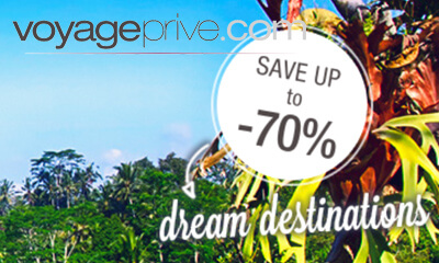 Up to 70% off Dream Destinations