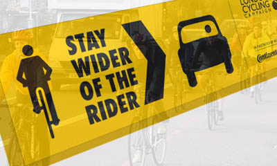 Free Stay Wider of the Rider Stickers