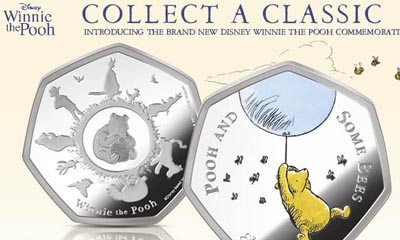 Winnie the Pooh Commemorative Coin for £9.95