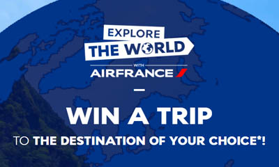 Win a Trip with Air France