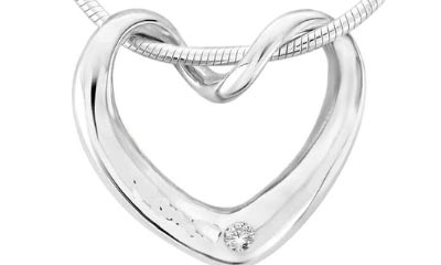 Win an Argent of London Silver Twisted Heart Necklace
