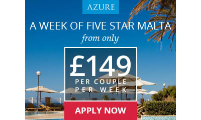 Free Malta Holidays from Just £149 Per Couple