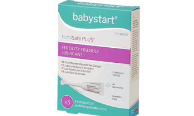 Free Pack of Babystart Fertility Friendly Lubricants
