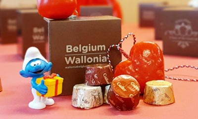 Free Box of Belgian Chocolates
