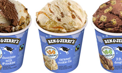 Free Ben & Jerry Moo-Phoria Light ice cream