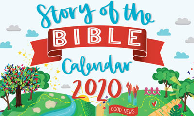 Free Story of the Bible 2020 Calendar