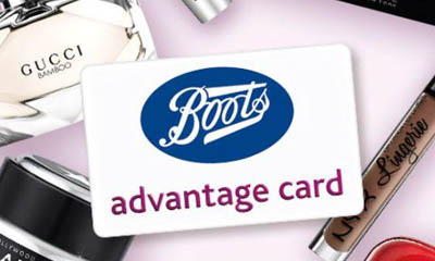 200 Free Boots Advantage Card Points
