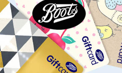Boots uk gift card