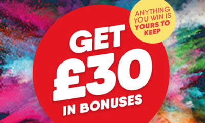 Your £30 Free Bingo Bonus