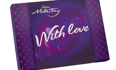 Free Personalised Cadbury Milk Tray Chocolates