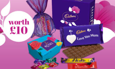 Free Cadbury Mother's Day Treasure Boxes
