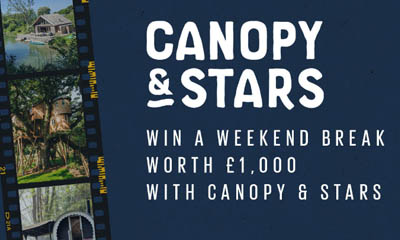 Win a Canopy & Stars Weekend Break with Fatface