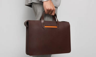 Win a Vallance Leather Briefcase