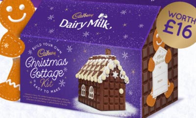Free Cadbury Christmas Cottage Chocolate Kits