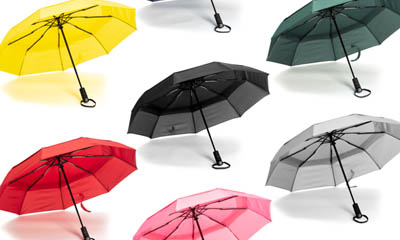 Free Colourful Travel Umbrellas