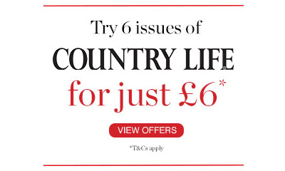 Try 6 Issues of Country Life for Just £6