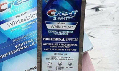 Free Crest Teeth Whitening Strips