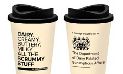 Free Dairy Consumer Reusable Cup