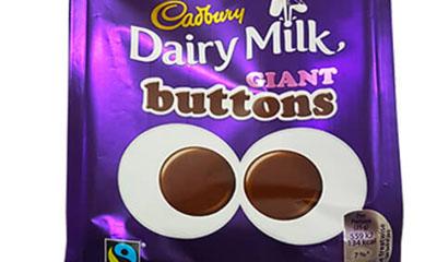 Free Pack of Cadbury Dairy Milk Buttons