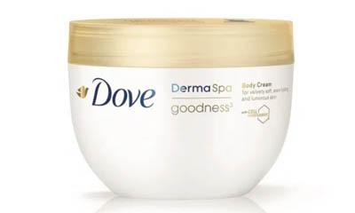 Free Dove DermaSpa Goodness Body Cream