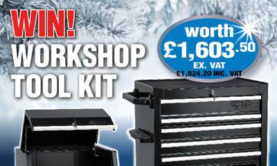 Win a Workshop Tool Kit