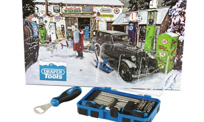 Win a 55 Piece Tool Advent Calendar