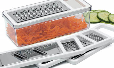 Free 5-Piece Grater