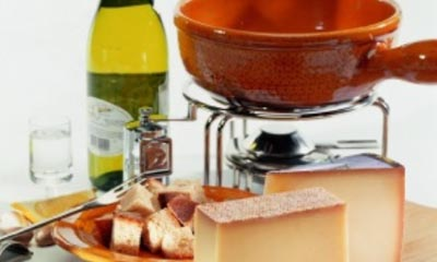 Win a Fondue Pot and Burner Set