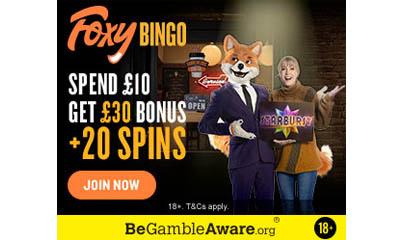 £30 Bingo Bonus + 20 Spins