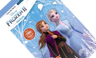 Free Frozen II Sticker Book