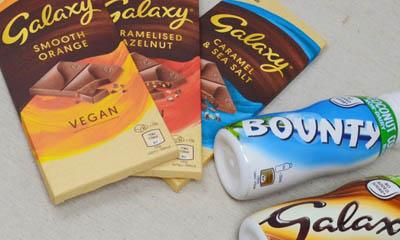 Free Galaxy Chocolate Bars & Bounty Drinks